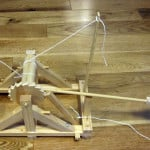 Miniature Working Da Vinci Catapult