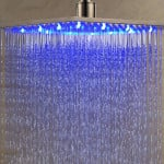 LED Rainfall Shower Head