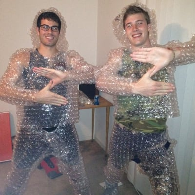 Bubble Wrap Suit