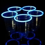 Blue Glow Stick Party Cups