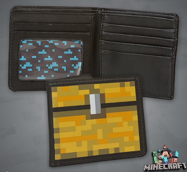 Minecraft Treasure Chest Wallet