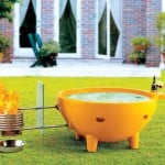 Fire Powered Hot Tub