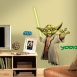 Glowing Yoda Decal
