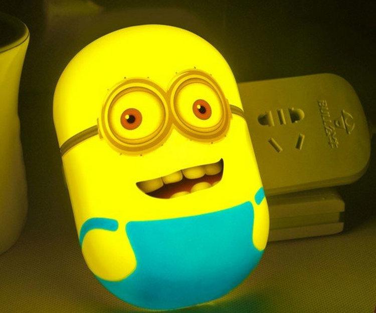 Squishy Minion Night Light