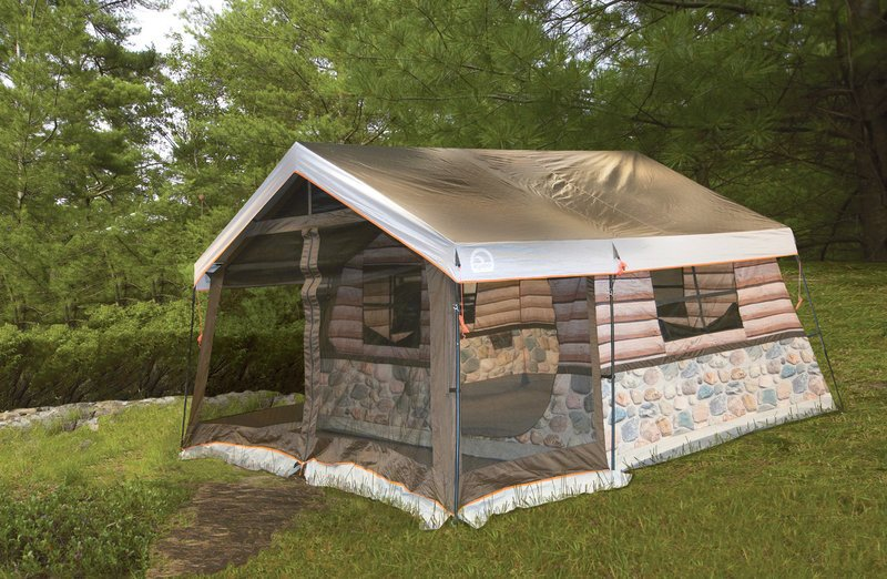 Log cabin tent for What is a tent cabin