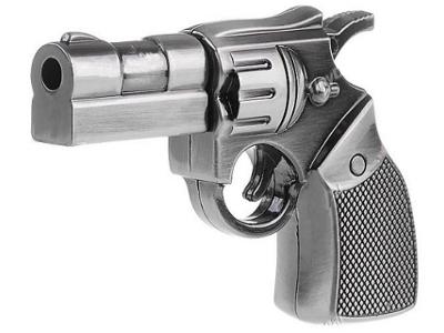 16 GB Metal Gun Shaped USB Flash Drive