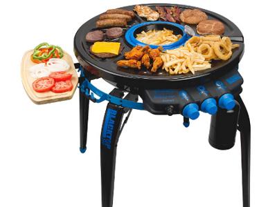 360° Degree Grill/Fryer 1