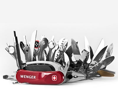 87 Piece Swiss Army Knife