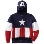 Captain America Mask Hoodie