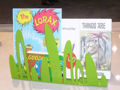 Fake Grass Bookshelf