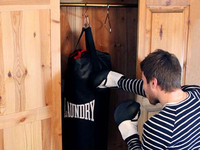 Laundry Punching Bag 1