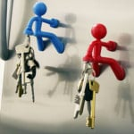 Magnetic Person Key Holder 2