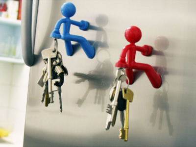 Magnetic Person Key Holder 1