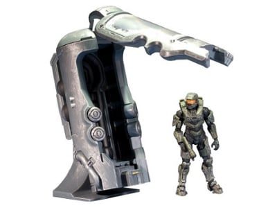 Master Chief Figure With Cryotube