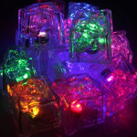 Multicolored Reusable LED Ice Cubes 8