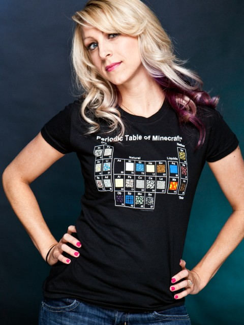 Periodic Table of Minecraft T-Shirt 1