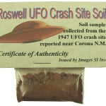 Roswell Crash Site Soil 9