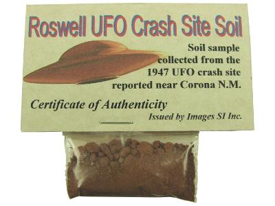 Roswell Crash Site Soil 1