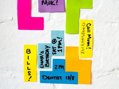 Tetris Sticky Notes 1