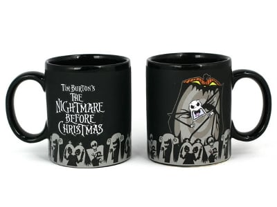 The Nightmare Before Christmas Color Changing Mug