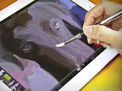 Touchscreen Paintbrush & Stylus 1