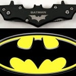 Batman Twin Blade Batarang Knife