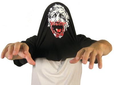 Flip up zombie shirt