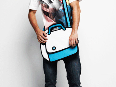 2-D Shoulder Bag 1