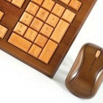 Bamboo Wireless Keyboard & Mouse 9