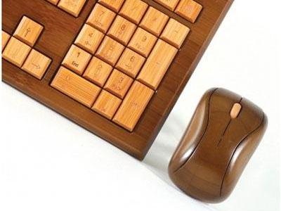 Bamboo Wireless Keyboard & Mouse 1