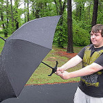 Broadsword Handle Umbrella 2