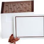 Chocolate Flavored Envelopes with Note Cards Set of 10