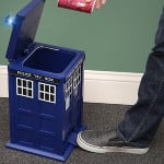 Doctor Who Tardis Garbage Bin 1