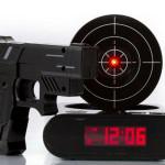 Gun Alarm Clock