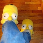 Homer Simpson Slippers 12