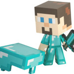 Minecraft Diamond Steve Figure 1