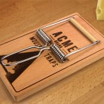 Mousetrap Cheese Board And Slicer 3