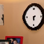 Pixelated Clock 3