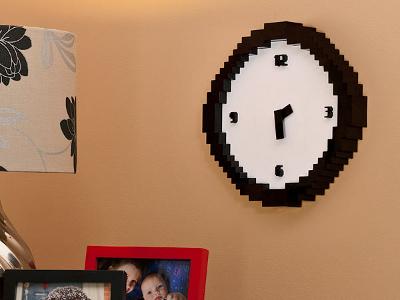 Pixelated Clock 1
