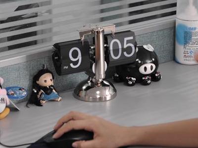 Retro Flip Down Clock 1