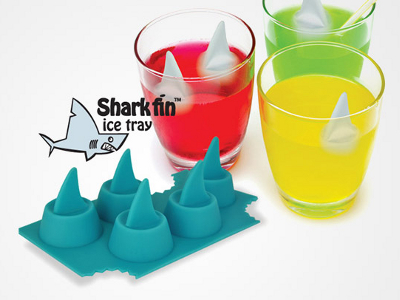 Shark Fin Ice Cube Tray 1