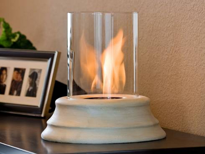 Tabletop Fireplace 1