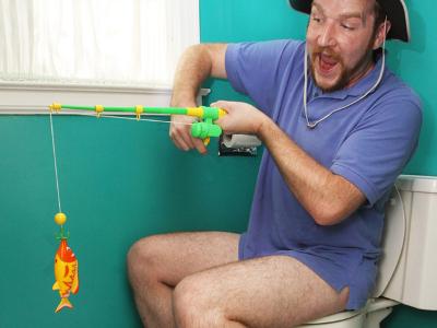 Toilet Fishing Game 1