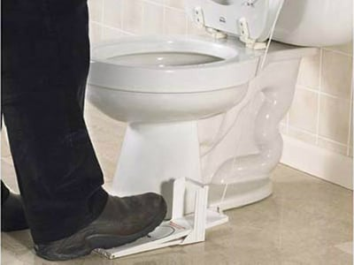 Toilet Seat Lifting Pedal