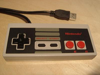Classic NES Game Controller (USB)