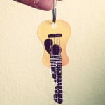 Acoustic Guitar Blank Key