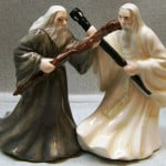 Gandalf & Saruman Salt & Pepper Shakers