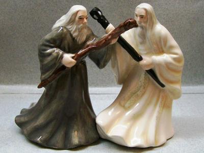 Gandalf & Saruman Salt & Pepper Shakers