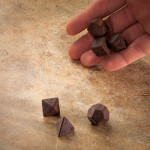 Chocolate Gaming Dice