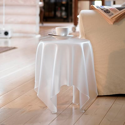 Glass Ice Table